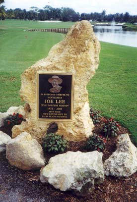 Gentleman Joe Lee Monument
